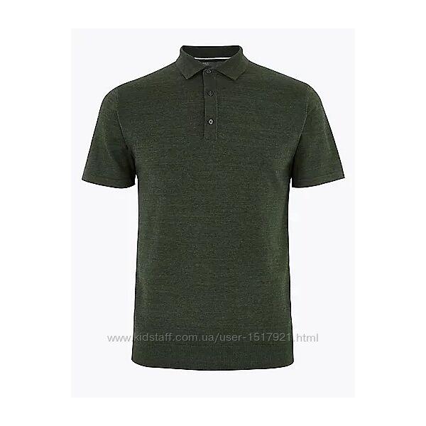 Мужская футболка поло M&S размер S, М, L