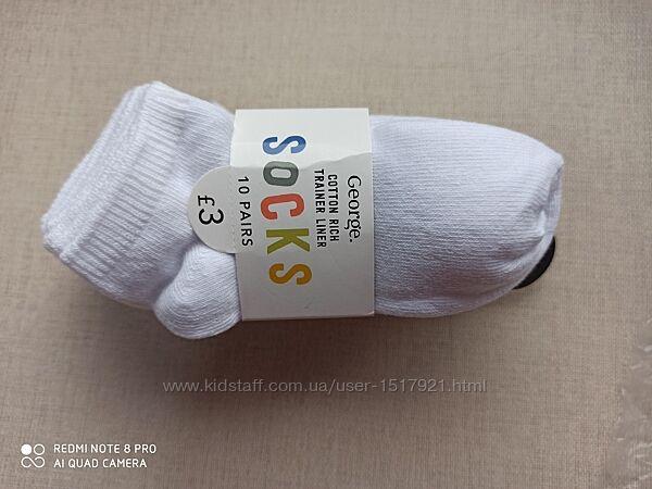 Набор носочков 5 пар 23-26 George носки