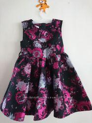 Нарядное платье, MARKS & SPENCER, размер 5-6 лет