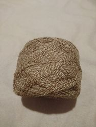 Пряжа для ручного вязания полушерстяная