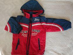 Куртка демисезонная на мальчика, рост 122 см