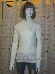 Вязаный свитер Molegi с высокой горловиной