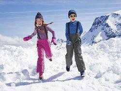 Функциональные лыжные штаны для девочек CRANE