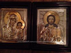 Казанская венчальная пара Богородица и Спаситель