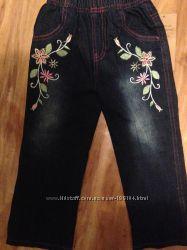 Новые теплые джинсы на флисе  Бесплатная отправка
