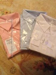 Рубашки для мальчика в школу с коротким рукавом  и с длинным рукавом