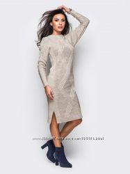 Платье вязаное новое, 50 шерсти, разных расцветок