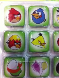 Магниты на холодильник Angry birds