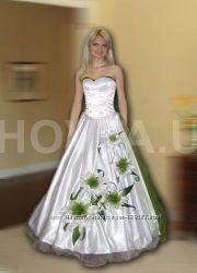 авторское свадебное платье