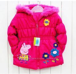 Демисезонные куртки для девочек Свинка Пеппа