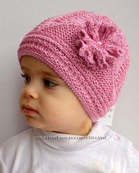 зимние и демисезонные шапки для детей