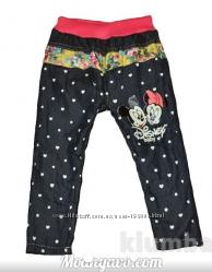Утепленные джинсы на девочек