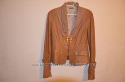 Кожаный пиджак VERA PELLE р. 46