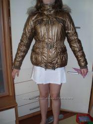 золотистая курточка для девочки на рост от 150-168