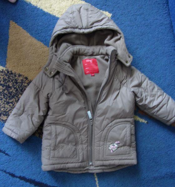 Теплая обалденная курточка ЕSPRIT, рост 92-98
