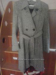 Пальто твидовое
