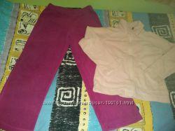 Флисовый костюм-поддева reima рейма для девочки, в размере 116-122