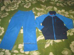 Фирменные костюмы флиски-поддевы Reima мальчику 116-122, хорошее состояние
