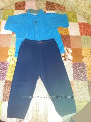 Флисовый костюм поддева reima мальчику  р. 98