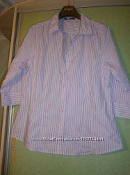 Рубашка женская, 18 евро размера, наш 54-56 размер