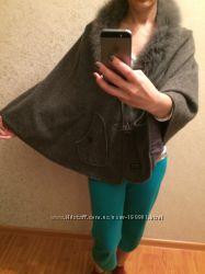 Пальто-монто с мехом