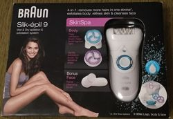 Эпилятор BRAUN Silk epil 9-996e SkinSpa