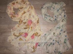 Фирменные женсике шарфы палантины