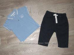 Комплеткты фирменной одежки мальчику 0-3-6 месяцев ч 1