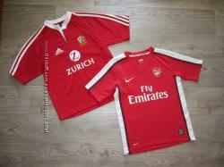 Фирменные спортивные футболки мальчикам 8-12 лет