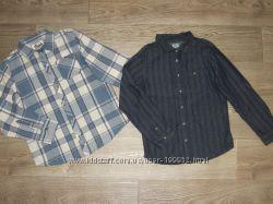 Фирменные рубашки мальчикам 8-10 лет