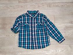 Фирменные рубашечки мальчику 3-6 лет