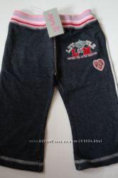 Трикотажные штанишки Minoti для девочки 6-12мес.