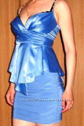 Нарядное платье из 2 частей