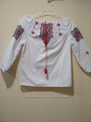Сорочка вишиванка  для дівчинки 5-7 років