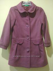 Пальто дівчинці Benetton 122-128