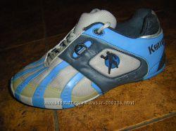 Летние аккуратные кроссовочки CRANE, голубые для гандбола  35-36 р.