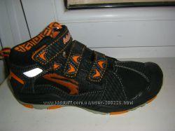 Осенне-зимние высокие  ботинки кожа, спортивного типа AGAXY  33-35 р.