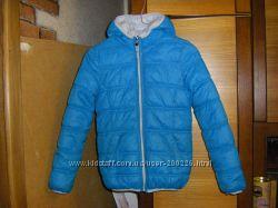 Новая осенне-зимняя куртка унисекс на  8-9 лет, рост 140- 146