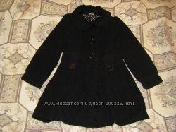 Пальто  осеннее, яркаие и теплые  на  5-8 лет 104,  110-128 см