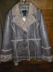 Новая роскошная осенне-зимняя стильная куртка - дубленка  рост 164-180