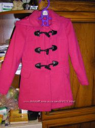 Шерстяное пальто,  плащ, дождевик  110-116 см