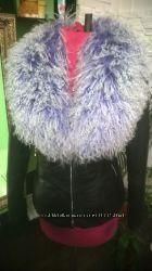 Куртка с натуральным мехом ламы в наличии