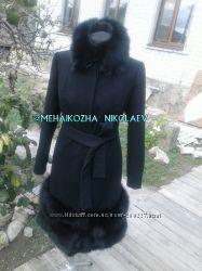 Пальто из кашемира в наличии