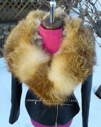 Куртка косуха с мехом лисы в наличии