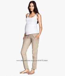 Льняные брюки H&M