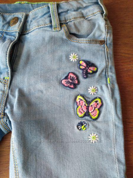 Скины, джинсы, джогеры, капри фирмовые 4-5 лет