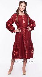 Вишиті плаття від ф-ки Слобожанка