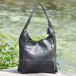 6af385b41826 Кожаная женская сумка Севилья черная, 1405 грн. Женские сумки купить ...