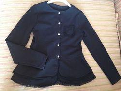 Стильный школьный пиджак. Размер 140-й