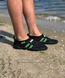 Ботинки неопреновые аквашузы тапочки коралловые